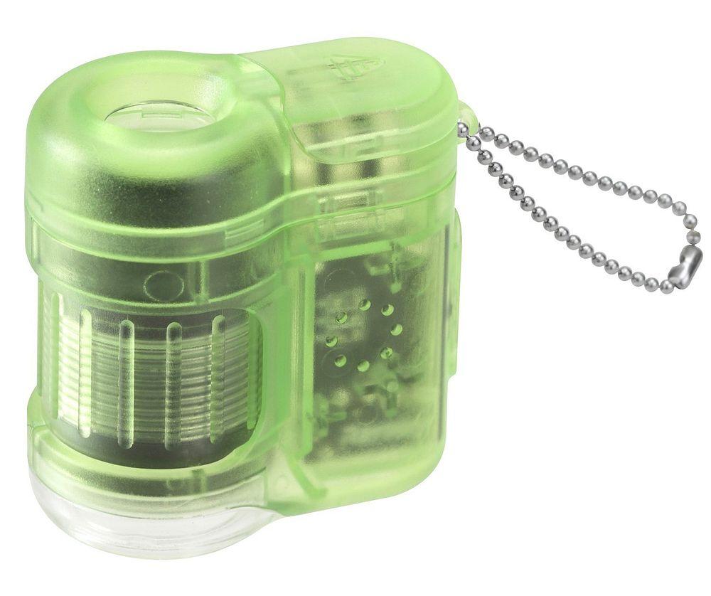 (まとめ買い)レイメイ藤井 ハンディ顕微鏡 petit グリーン RXT150M 〔3個セット〕