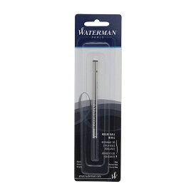 (まとめ買い)ウォーターマン ボールペン替芯 ブラックF 1964017 〔3個セット〕