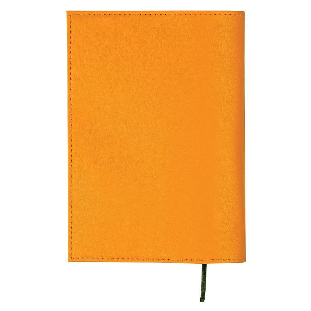 【メール便発送】セキセイ ラポルタ ブックカバー 文庫判 オレンジ LA-3401-51【代引不可】