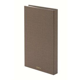 (まとめ買い)マルアイ 名刺ファイル ブラウン KA-MFS 〔2冊セット〕