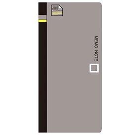 (まとめ買い)コレクト メモノート メモ帳 グレー 紙幣サイズ CN-100-GY 〔10冊セット〕