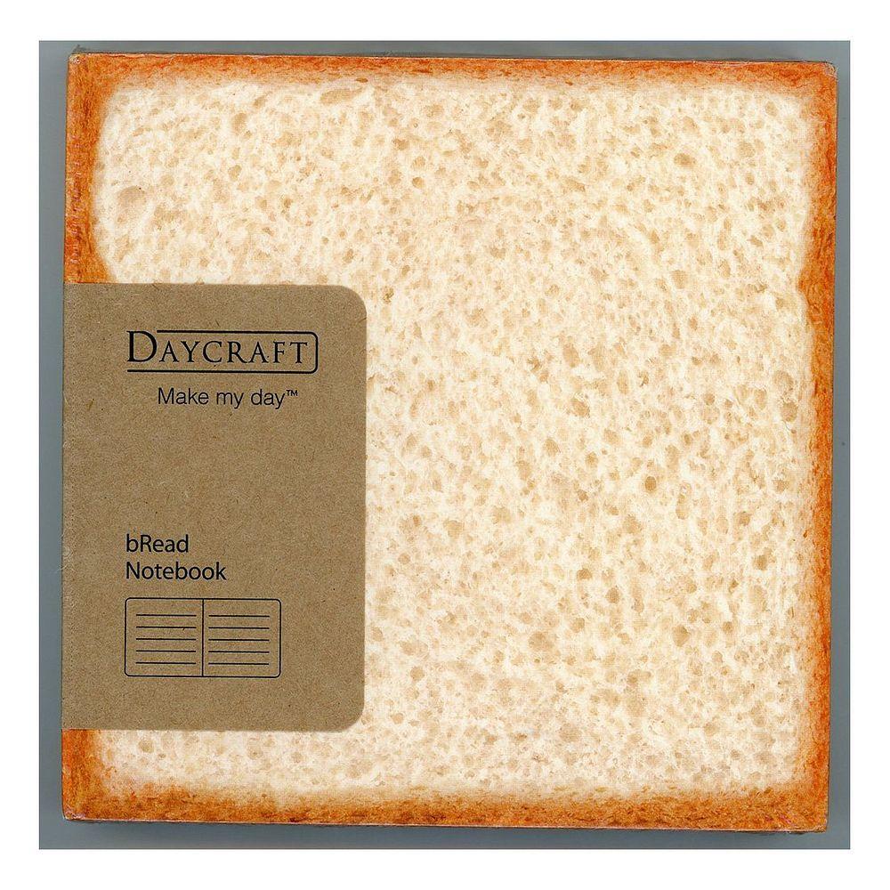 (まとめ買い)ダイゴー ノート bRead Notebook - White Bread N76411 R4085 〔2冊セット〕