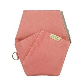 (まとめ買い)クツワ 文具エプロンバッグ ポケット ピンク BE008PK 〔3個セット〕