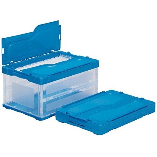 (まとめ買い)三甲 サンクレットオリコン 透明ブルー F41B 558980-00 〔3個セット〕
