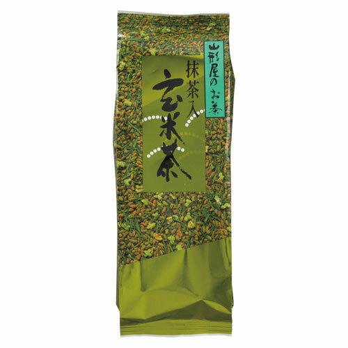 (まとめ買い)山形屋海苔店お徳用抹茶入玄米茶300g 〔3袋セット〕