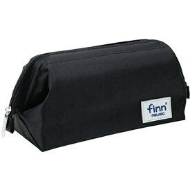 (まとめ買い)セキセイ フィンダッシュ パックンポーチ ブラック 携帯ポーチ・収納ボックスの2WAY FINN-7707-60 〔3個セット〕