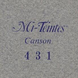 マルマン 色画用紙 キャンソン ミタント ポストカードサイズ 431 スチールグレー 50枚 POST431P