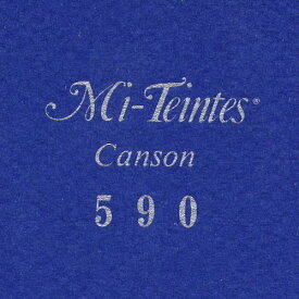 (まとめ買い)マルマン 色画用紙 キャンソン ミタント ポストカードサイズ 590 ロイヤルブルー 50枚 POST590P 〔3冊セット〕