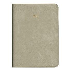 【メール便発送】ダイゴー 手帳 2020年4月始まり ミル MILL MILD マネジメント A6 グレー E9504 【代引不可】