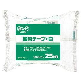 コニシ 梱包テープ 白 50mmX25m #67919 00003655