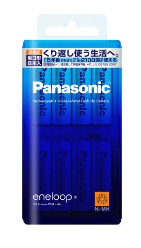 【メール便発送】パナソニック エネループ 単3形 8本パック BK-3MCC/8 00018148【代引不可】
