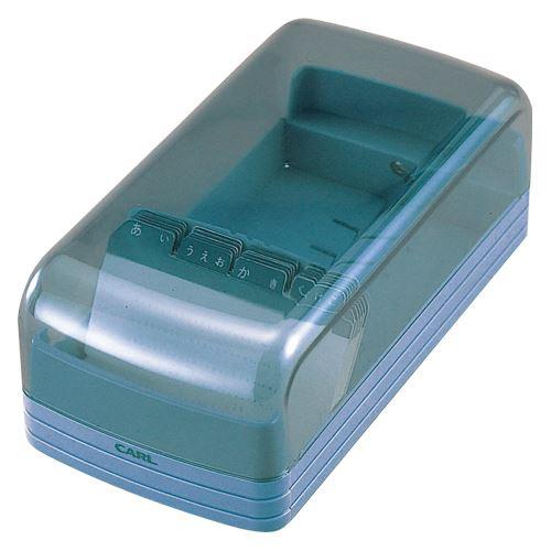 カール事務器 名刺整理器 NO.860E ブルー NO.860E-B 00032707