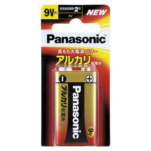 【メール便発送】パナソニック アルカリ電池 9V 1個ブリスター 6LR61XJ/1B 00059924