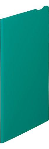 キングジム スーパーハードホルダー2ポケットマチ付緑 748ミト 00200463