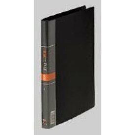 コレクト 名刺カードファイル 黒 A4-L 30穴 CF-614-BK 00040871【北海道・沖縄・離島配送不可】