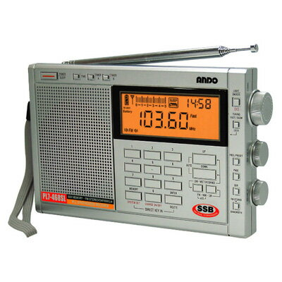 【送料無料】ANDO PLLシンセサイザーラジオ PL7-468SL