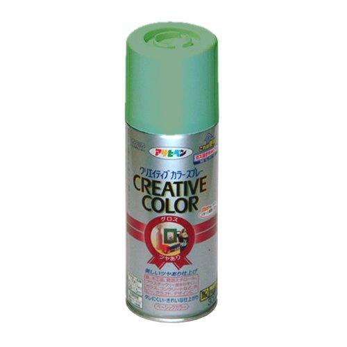 (まとめ買い)アサヒペン クリエイティブカラースプレー 300ML 75ミントグリーン 〔5缶セット〕