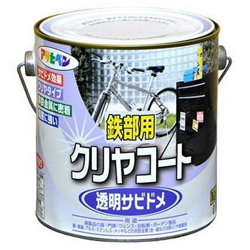 (まとめ買い)アサヒペン 鉄部用クリアコート 0.7L クリア 〔3缶セット〕
