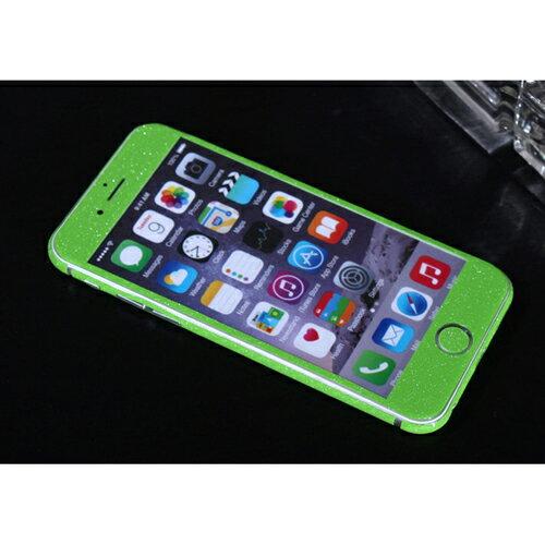 ITPROTECH 全面保護スキンシール for iPhone6/グリーン YT-3DSKIN-GR/IP6【代引不可】