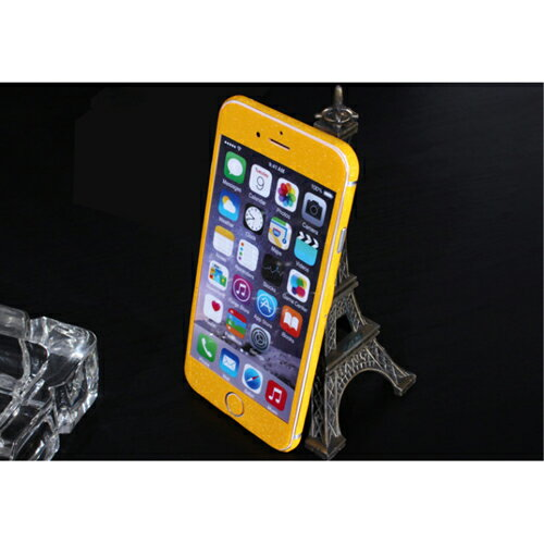 ITPROTECH 全面保護スキンシール for iPhone6/イエロー YT-3DSKIN-YL/IP6【代引不可】