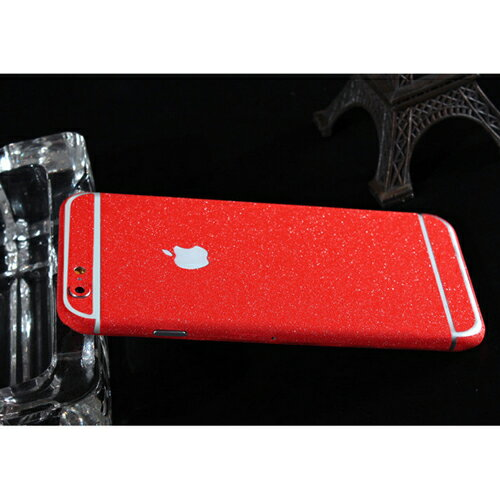 ITPROTECH 全面保護スキンシール for iPhone6Plus/レッド YT-3DSKIN-RD/IP6P【代引不可】