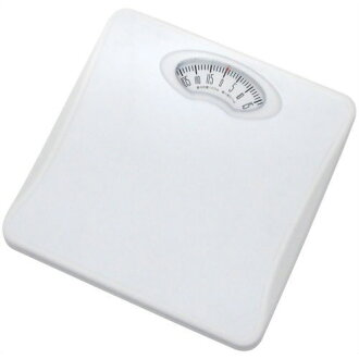 Fujix Dretec Analog Weighing Scales Body Scales Shapes White Bs