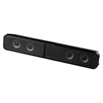 供SANWA SUPPLY液晶电视·个人电脑使用的声音酒吧音箱MM-SPSBA2N