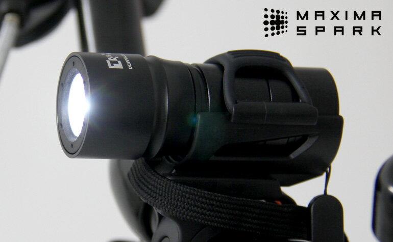DOPPELGANGER(ドッペルギャンガー) 自転車LEDフロントライト マキシマスパーク DL-07【代引不可】
