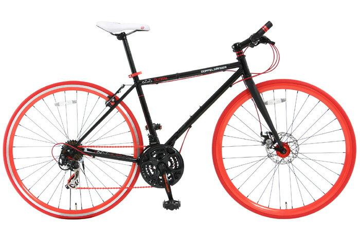 【送料無料】DOPPELGANGER(ドッペルギャンガー) 700C×23C 折りたたみ式クロスバイク 21段変速 822-700 SLOW JAM【代引不可】