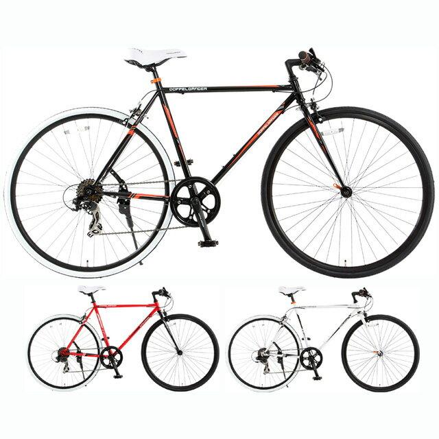 【送料無料】DOPPELGANGER(ドッペルギャンガー) 700C クロスバイク 420 SCALPEL【代引不可】