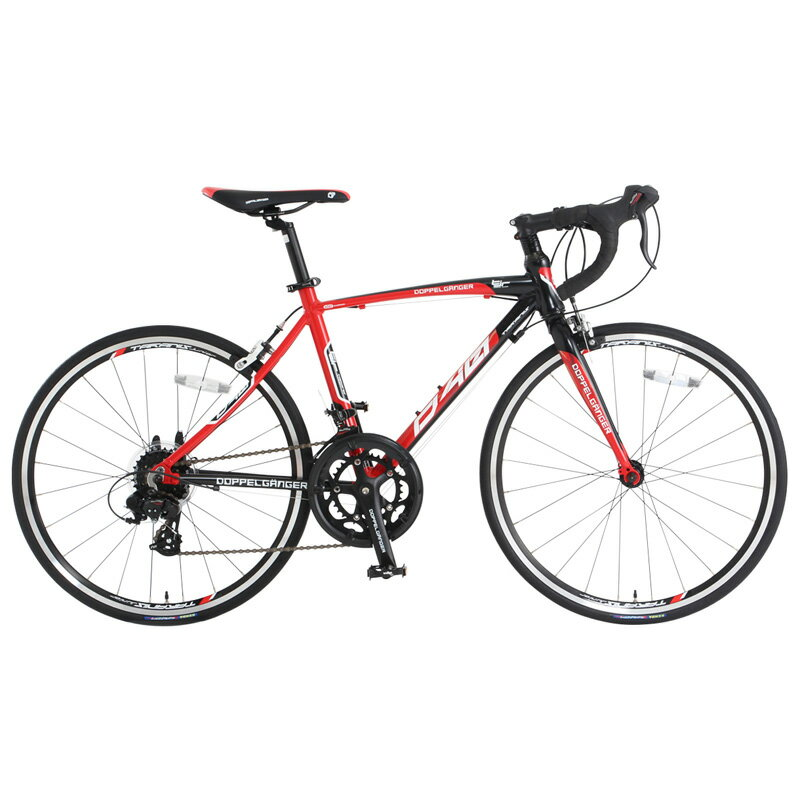 【送料無料】DOPPELGANGER(ドッペルギャンガー) 24インチ ジュニアロードバイク 子供用自転車 14段変速 D40J-RD 新着【代引不可】