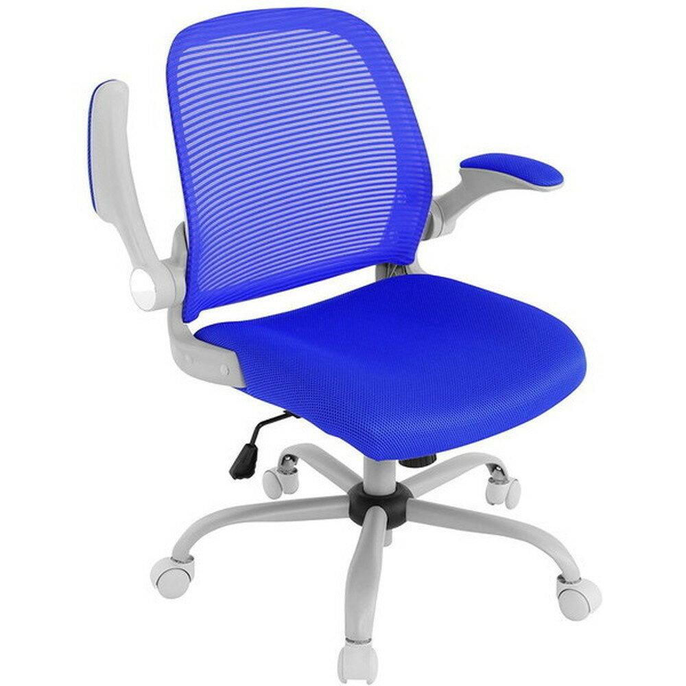 【送料無料】Bauhutte (バウヒュッテ) 事務椅子の決定版 デスクチェア The・ジム(ザジム) 日本人向け低座面設計 ブルー CP-22-BU【代引不可】