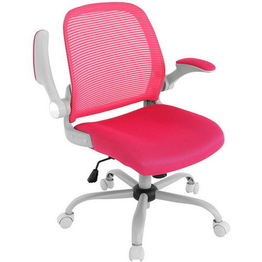 【送料無料】Bauhutte (バウヒュッテ) 事務椅子の決定版 デスクチェア The・ジム(ザジム) 日本人向け低座面設計 ピンク CP-22-PK【代引不可】
