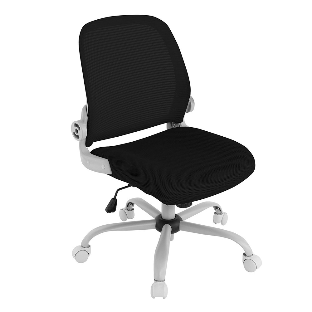 【送料無料】Bauhutte (バウヒュッテ) 事務椅子の決定版 デスクチェア The・ジム(ザジム) 日本人向け低座面設計 肘掛なしタイプ ブラック CP-23-BK【代引不可】