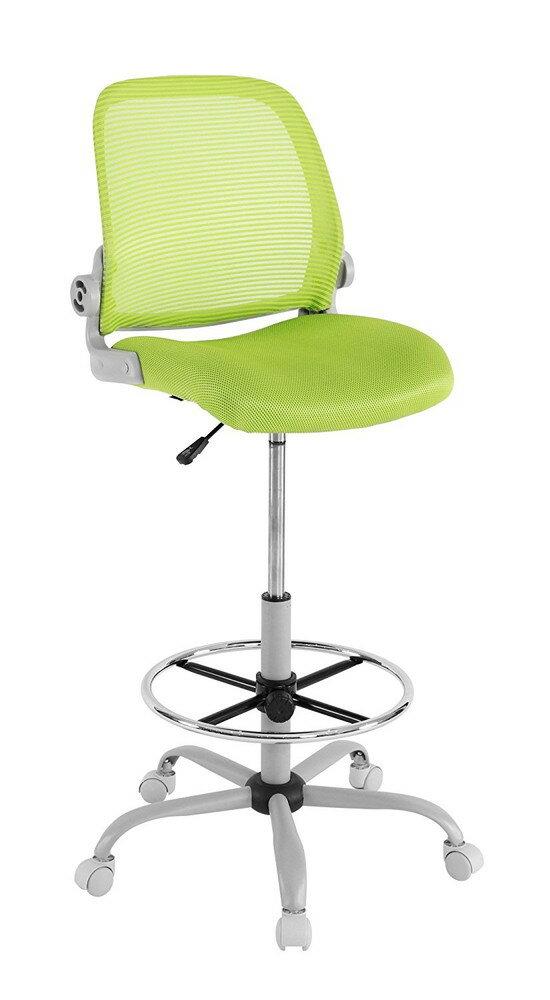 【送料無料】Bauhutte (バウヒュッテ) スタンディングデスク向け事務椅子 スタンディングチェア グリーン CP-24-GN【代引不可】