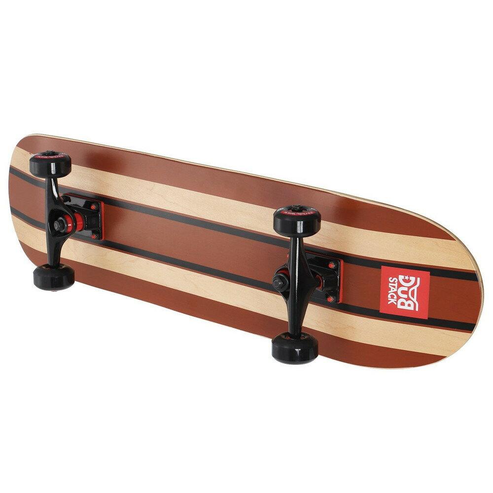 DUB STACK(ダブスタック) スケートボード 31インチ DSB111-BR【代引不可】