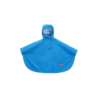 Age 3~7 age indication DRW470-BL blue targeted for the poncho with the water pressure 3,000mm blue food adjuster for the DOPPELGANGER (ドッペルギャンガー) カルガモットポンチョ infant-resistant