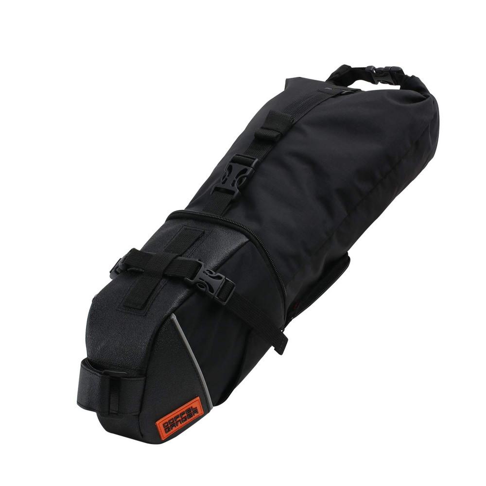 DOPPELGANGER(ドッペルギャンガー) パズルフレームバッグ 3ピースで装着自在 フレームバッグ 合計容量1.9L 固定用ベルト付属 DFB467-BK ブラック【代引不可】
