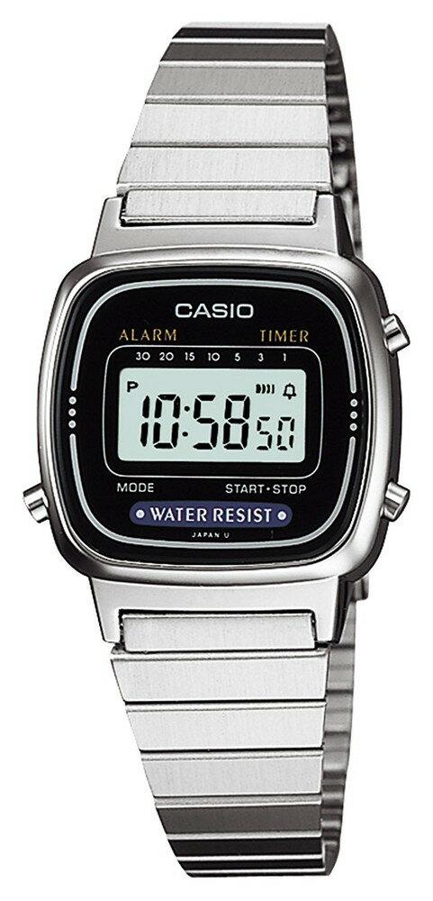 カシオ CASIO 腕時計 スタンダード LA-670WA-1JF レディース