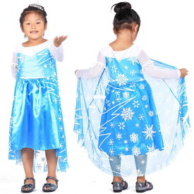 【送料無料】FJK コスチューム アナと雪の女王 Frozen エルサ Elsa FJK-014 キッズ 女の子 コスプレ 衣装 子供用 プリンセスドレス【あす楽対応】