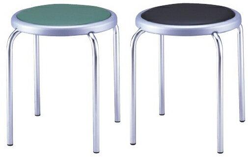 丸椅子 カラー:レッド MY-N1144【代引不可】