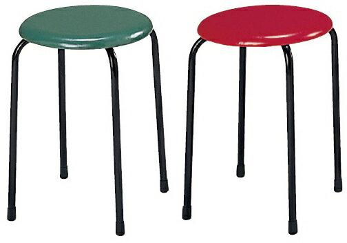 丸椅子 カラー:グリーン MY-N1145【代引不可】