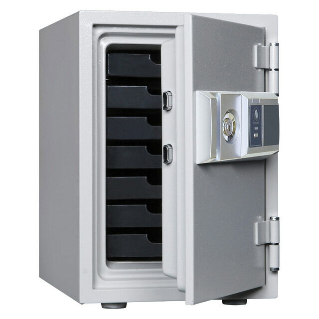 【送料無料】ダイヤセーフ 家庭用 耐火金庫 カード式 RC50-7 重量53kg JIS1時間耐火【代引不可】