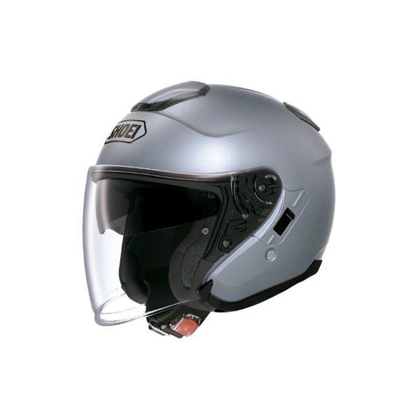 【送料無料】ショウエイ(SHOEI) ヘルメット J-CRUISE パールグレーメタリック L【代引不可】