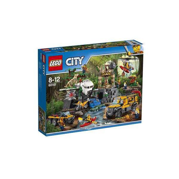 【送料無料】レゴジャパン 60161 レゴ(R)シティ ジャングル探検隊 〔LEGO〕【代引不可】