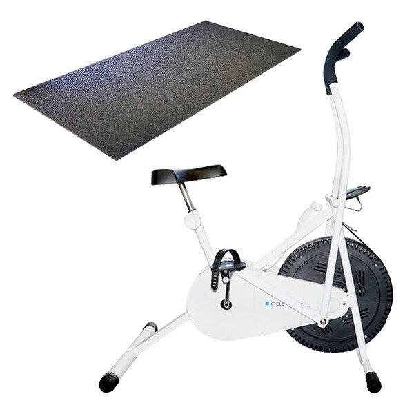 【送料無料】サイクルツイスタースリムWT550+専用床保護マットセット【代引不可】
