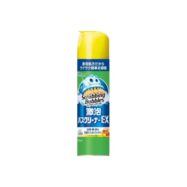 ジョンソン スクラビングバブル激泡バスクリーナーEX × 5 点セット 【代引不可】