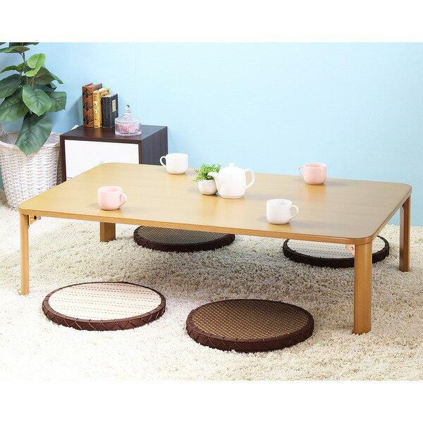【送料無料】テーブル IW-1275B本体:幅1200×奥行70×高さ320mm【代引不可】