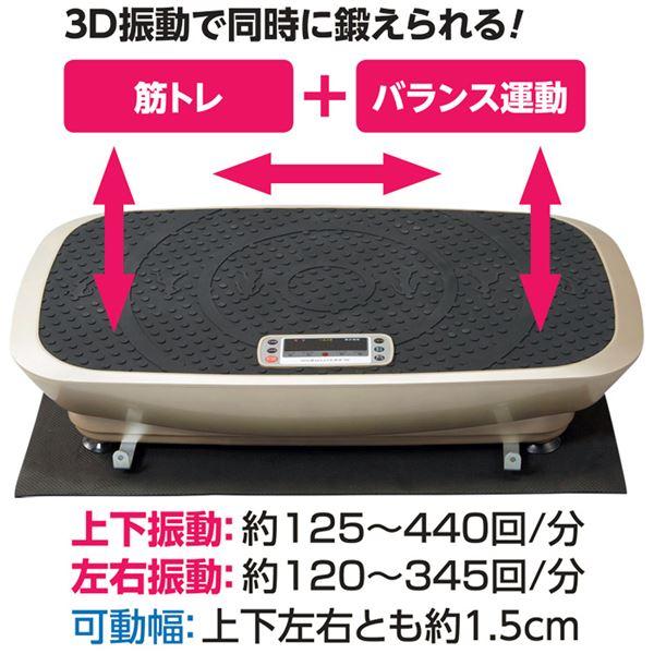 【送料無料】アルインコ 3D振動マシンバランスウェーブ【代引不可】