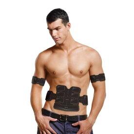 アクティブパッド EMS 腹筋ベルト 段階パワー ボディ用 貼るだけトレーニング【代引不可】